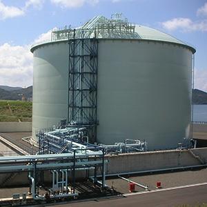 金属二重殻低温LPGタンク(LPG)
