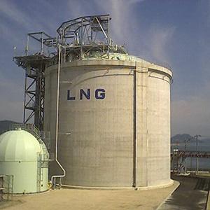 PCLNGタンク(液化天然ガス)