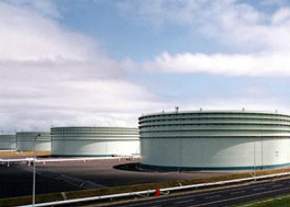 フローティング・ルーフ・タンク(FRT)(原油)