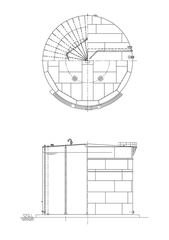 常圧円筒タンク