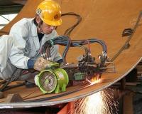 球形タンクの作り方(工場製作)